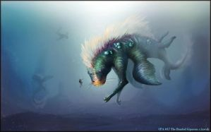 Creature Planets 17 by kovah