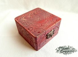 CELTIC HEART BOX by MassoGeppetto