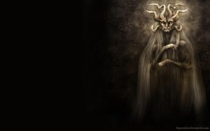 Horned Elder 1280x800 by Kipestshin