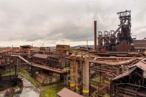 blast furnace by BramvdZPhotography