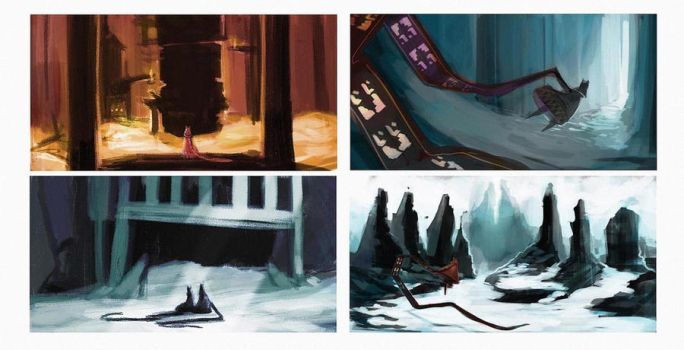 Journey- Sketches by Oune