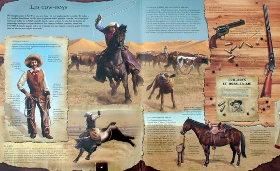 Cowboys -2 Page Spread by ChrisAppel