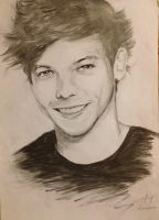 Louis Tomlinson by toffeecheung