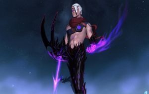 Legue of legends Varus by DragonisAris