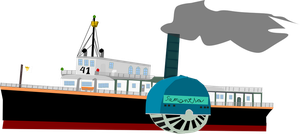 1880's Classic Steam Ship by OceanRailroader