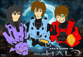 Kaz, Mel, and Seth Halo Style by EX388
