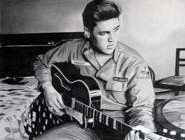 Elvis Guitar by donchild