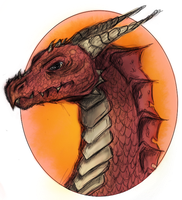 Red Dragon by Krains