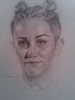 Miley - Freehand by LonnyClouser