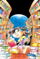 Mistery in the Library - cover by MarcFerreira