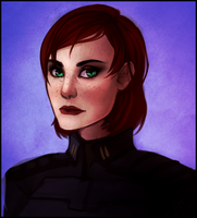 ME: Shep portrait by Weissidian