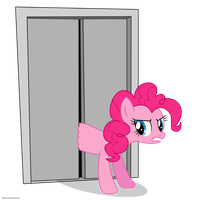 Bad Gateway Pinkie Pie - PNG by Larsurus