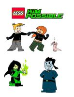 LEGO Kim Possible by Blood-Asp0123