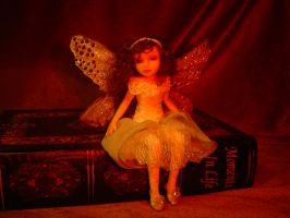Tattered Fairies Ooak Fairy 1 by LindaJaneThomas