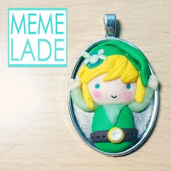 Link from The Legend of Zelda Necklace by Memelade