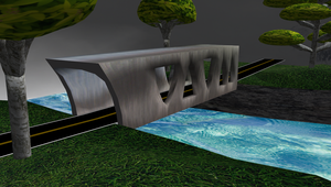 MMD Bridge stage by mbarnesMMD