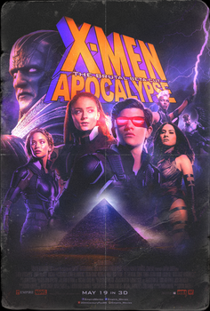 X-Men: Apocalypse - The Brutal Beta Cut poster by NiteOwl94