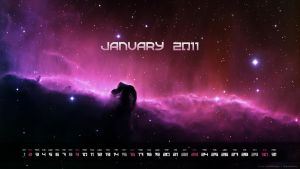 Calendar - January 2011 by SzabokaDesigns