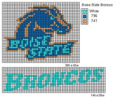 Boise State Broncos by cdbvulpix
