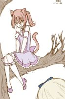 alice meets cheshire cat by tampopo-25