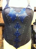 women armor dragonskin 2 by Damiane