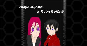Chiyo and Kyon by KyioneEvans