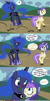 Celestia Grants A Filly's Wish by Faikie