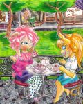 2nd Contest entry : Teapot And Dessert by ShyLittleLily