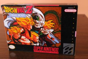 Dragon Ball z Final Bout for snes by Maleiva