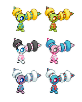 Fakemon Gambal (colours?) by Bunni89