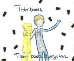 Tinderboxes everywhere by hetalia-is-sexy