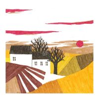 House with Fields II by squiglemonster