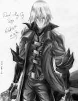 Dante-Devil May Cry by MelindaPhantomhive