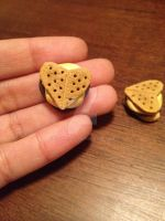 Heart Shaped S'mores by KittyKafe