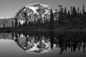 Shuksan Reflection by jasonwilde