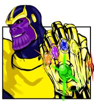 Thanos clipart by StudioBadguy