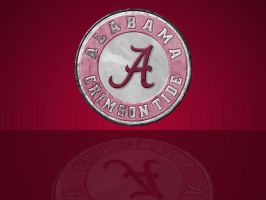 Crimson Tide Background by cotrackguy