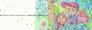 Ethereal Artbook Preview by cheru3