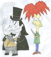 Cobblepot and Terwilliger by SithVampireMaster27