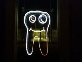 Tooth with a Mouth by kennypick