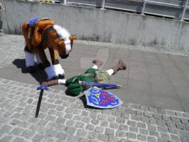 Legend of Zelda GAME OVER with Epona by MadHamsterCostumes