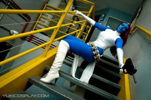 Mystique at AX by Yukilefay