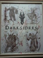 Darksiders - The Horsemen Of Apocalypse by adarkworldfantasy
