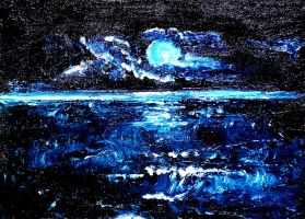 Night song of the Ocean by HelaLe