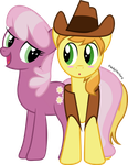 Request: Cheerliee x Braeburn by PaulyVectors