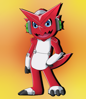 Shoutmon by Dawidkwachu