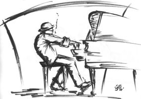 Piano Player by StephenEusebio
