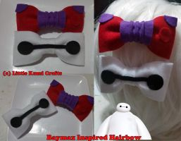 Big Hero 6 inspired Hairbow by lkcrafts