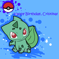 Bulbasaur gift by vivianchhay