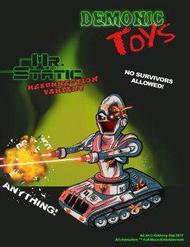 Demonic Toys: Mr. Static Variant by Gummibearboy